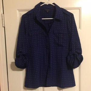 Polkadot 3/4 blouse